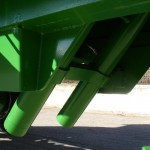 Remolques agrícolas con doble pistón de basculación