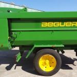Detalle hidráulica - Bañeras agrícolas de 1 eje.