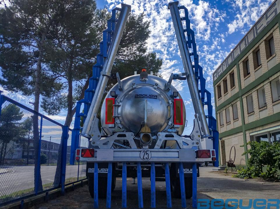 aplicador de purin beguer ab1 7,5 metros