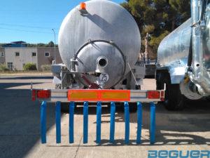 Aplicadores de purin Beguer AB1 2,5 metros