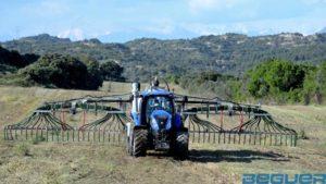 Aplicadores de purín Beguer Vogelsang Swin up 2 farmer extendido