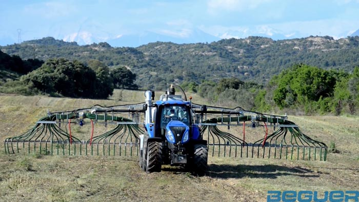 Aplicadores de purines Vogelsang Swin up 2 farmer extendido