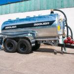 Cisternas agrícolas tandem beguer 17500 litros con aplicador beguer AB4 de 2,5 metros