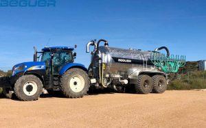Cisterna de purin 22000 litros Beguer con aplicador AB3
